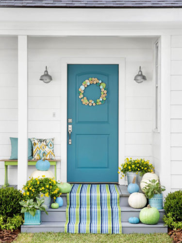porta turquesa de Alison Kandler