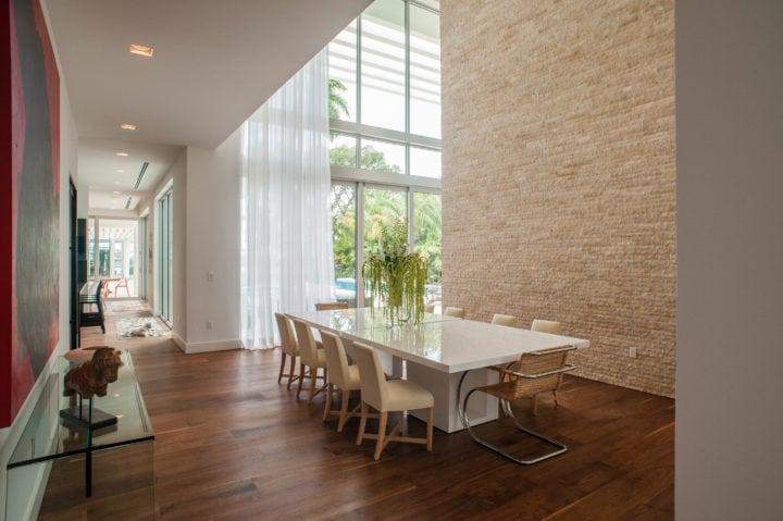 Sala de Jantar do Projeto de Nayara Macedo em Miami