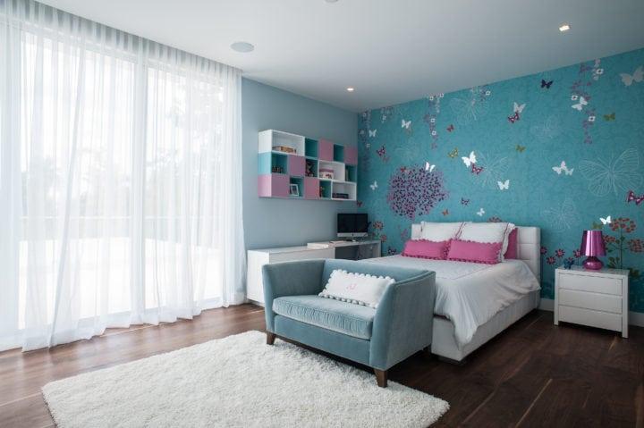 Suite do projeto de Nayara Macedo em Miami