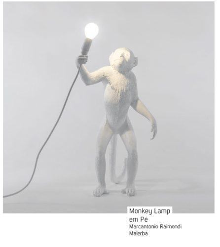 Monkey Lamp. As luminárias de macaco invadiram a decoração.