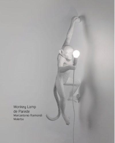 Monkey Lamp. A luminária de Marcantonio Raimondi, os macacos invadiram a decoração.