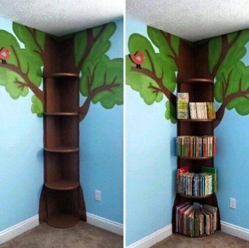 Detalhe de decoração para as crianças.