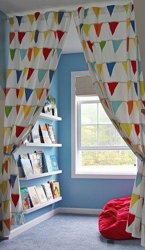 Ideias de decoração para as crianças.