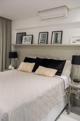 cama do apartamento pequeno por Bordin&Soares