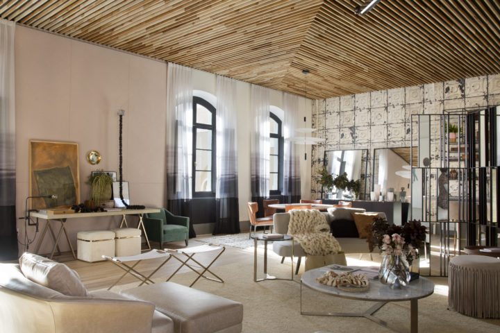 Sala de Juliana Pippi para CasaCor Florianopolis