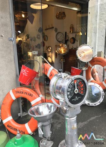 Tudo para uma decoração náutica no Marché Biron no marche aux puces