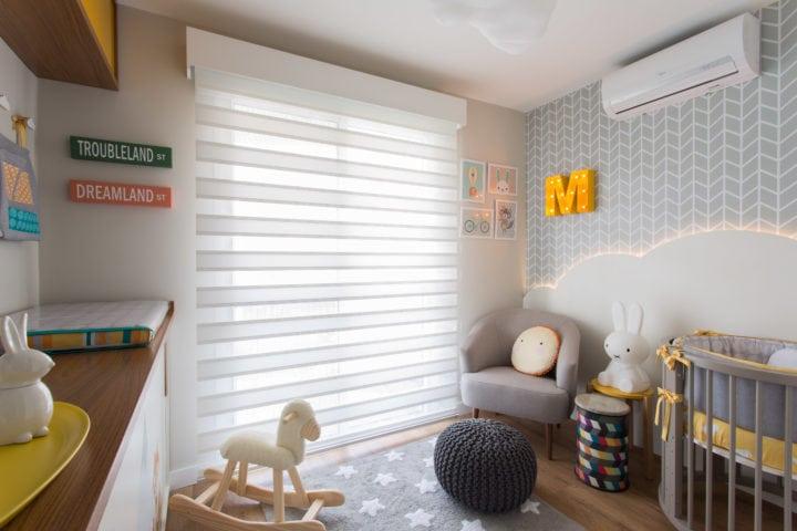 Berço do quarto de bebe de Nayara Macedo