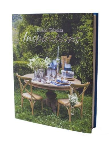 Capa do livro de Eliane Teixeira sobre decoração de mesas.
