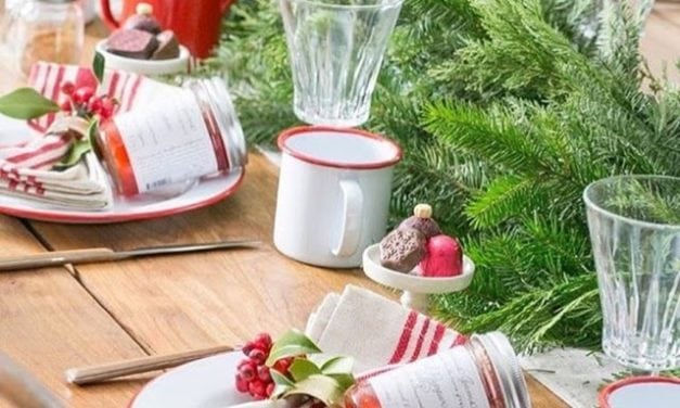 Inspiração e super dicas para a sua mesa de Natal!