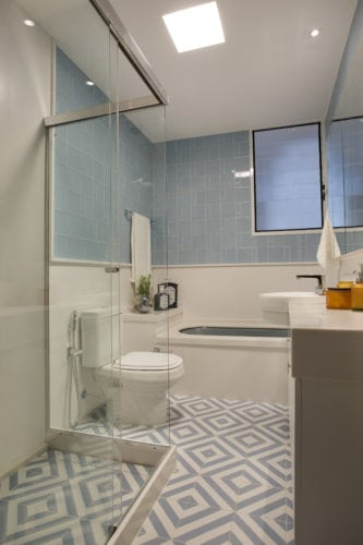 banheiro retro da MRG