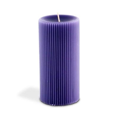Vela Greec Column English Lavender da Cecilia Dale em ultra violet
