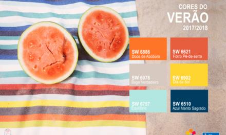 A energia das cores do verão, por Tintas Sherwin-Williams.