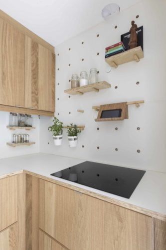 Cozinha no projeto de Camila Cavalheiro