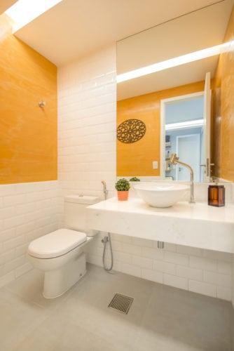 banheiro do escritorio coworking de Rosa Prado