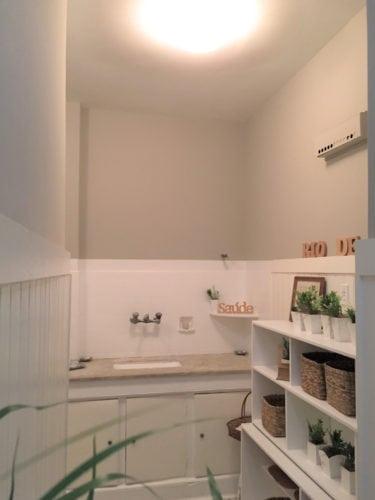 A mesma cozinha usando as técnicas do Home Staging