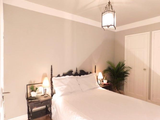 O mesmo quarto depois do Home Staging.