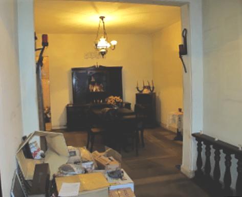 Sala de Jantar do apartamento no Flamengo antes do Home Staging