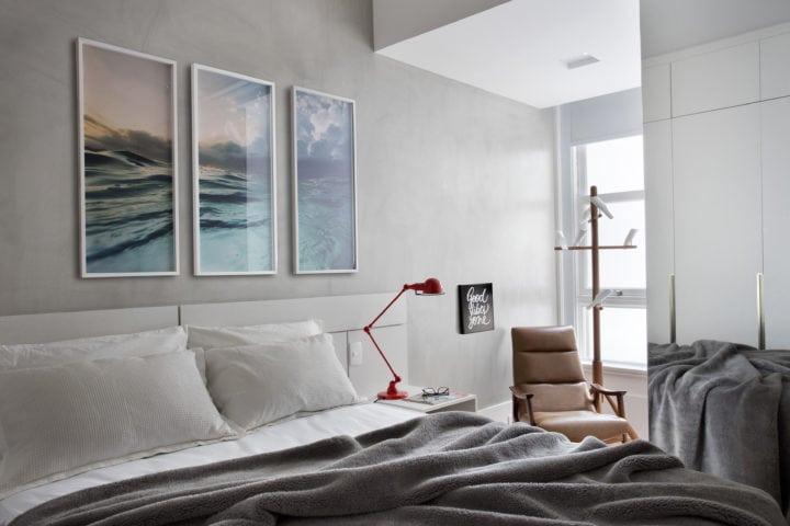 suite assinada por arquiteto Mauricio Rebello e pelo engenheiro Getúlio Evangelista.