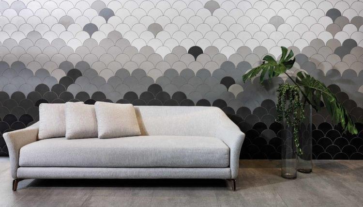 Revestimento cerâmico; Já a linha Forma atualiza a coleção de mosaicos em porcelanato para compor soluções em mármores, concreto, madeira e outros materiais, deixando seu espaço ainda mais encantador.