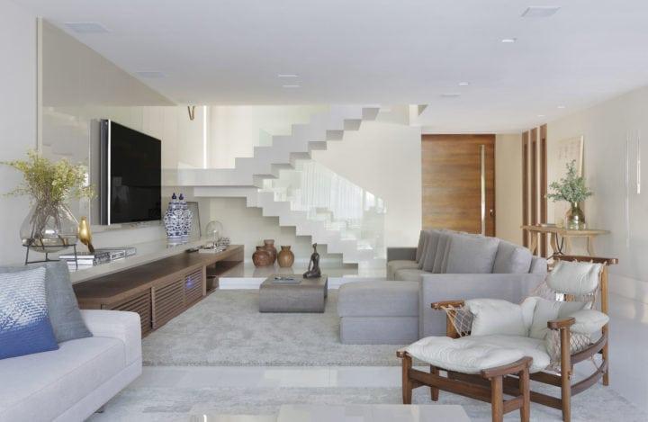 Escada com projeto de Leila Dionizios