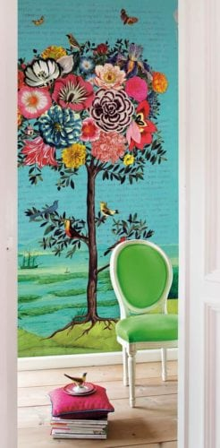 Painel de parede Fantastree, da holandesa PIP Studio
