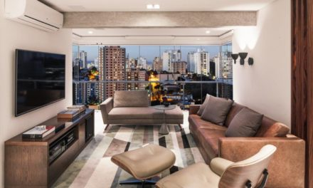 Amplo apartamento para um jovem solteiro.