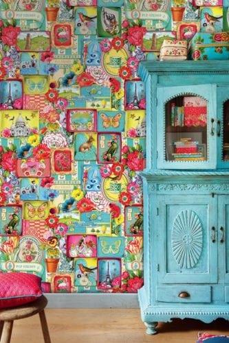 Painel de parede modelo PiP's Journey, da marca holandesa PIP Studio,