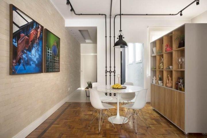 sala do apartamento na gloria de fabiano ravaglia
