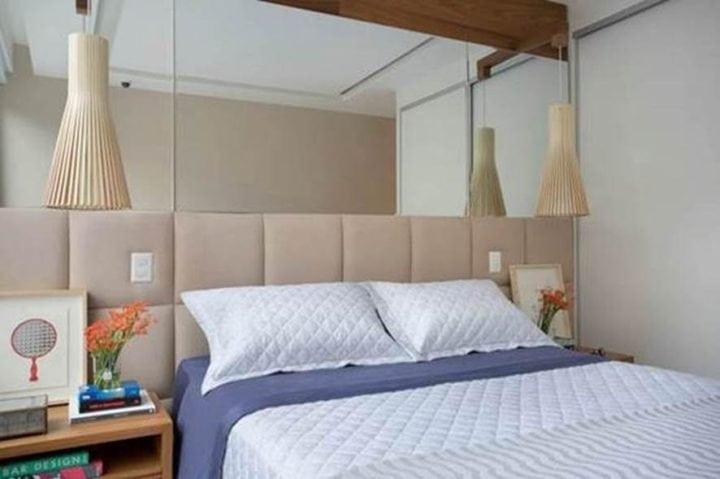 detalhes do quarto projetado por Bianca da Hora