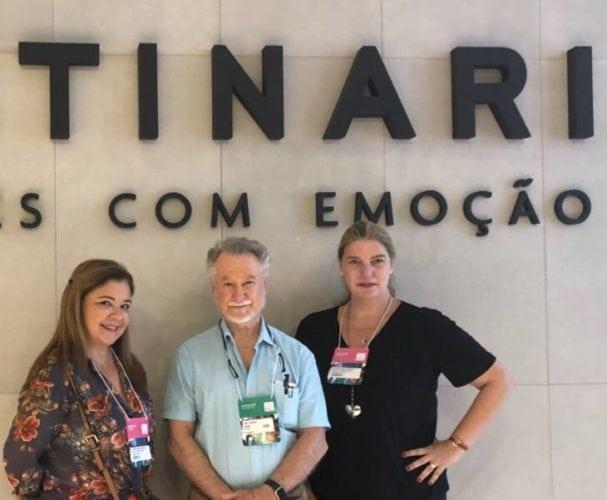 Liliane Abreu, João Candido Portinari, diretor -  geral do projeto Portinari e Celina Mello Franco.