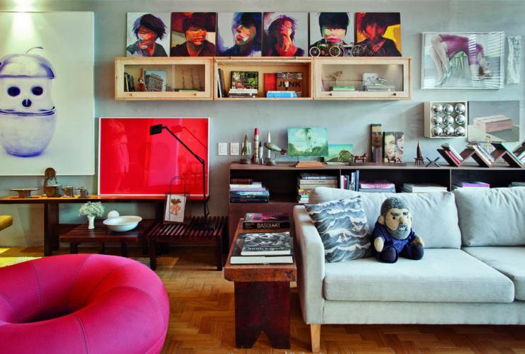 """Lançamento livro """"Bel Lobo e Bob Neri: Vida é Obra"""". Apartamento Leblon, Foto Marcos Bravo."""