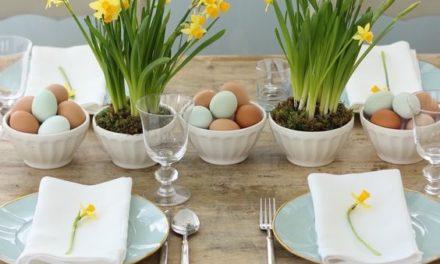 Inspiração e dicas para a sua decoração de Páscoa