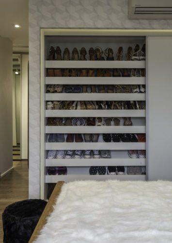 Armarios para guardar sapatos