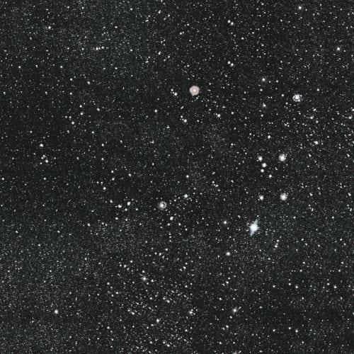 Noites estreladas e cinema inspiram coleção dos Irmãos Campana para marca de revestimentos cerâmicos. Porcelanato com fundo preto e estrelas