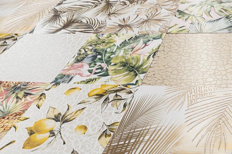 Lançamento da Eliane Revestimentos, coleção Patch Tropical - Urban Jungle