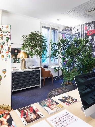 escritorio da Vogue assinado por Antonio Citterio e Patricia Viel