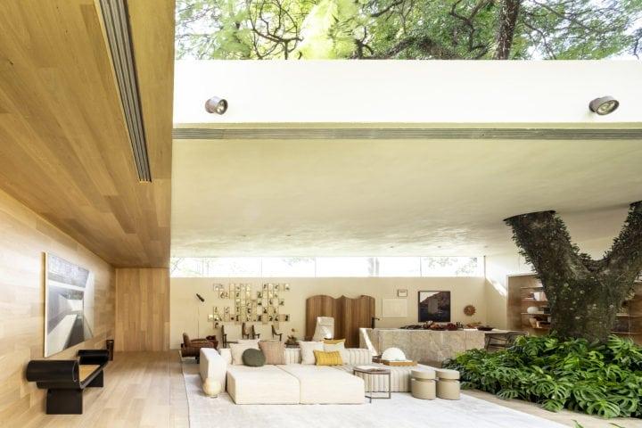 Sala da Casa da Arvore de suite arquitetos para CasaCor SP