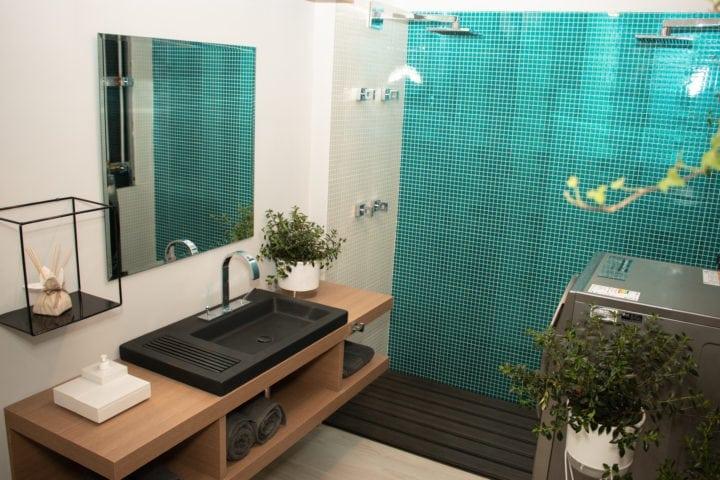 banheiro da casa sustentável da leroy merlin no casacor sp