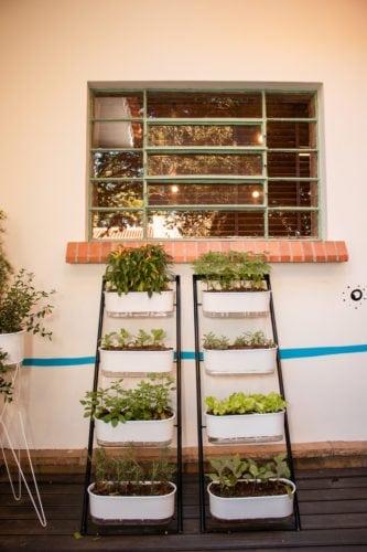 horta da casa sustentável da leroy merlin no casacor sp