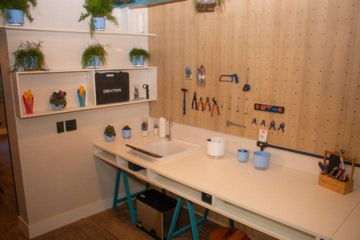 oficina da casa sustentável da leroy merlin no casacor sp