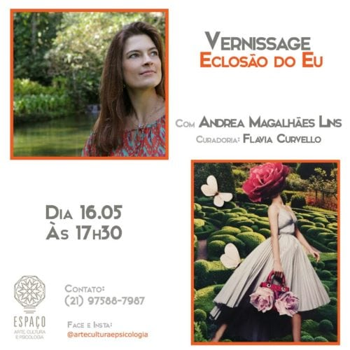 As lindas e incríveis colagens artísticas de Andrea Magalhães Lins.