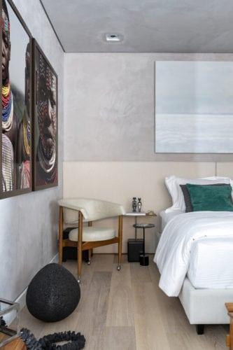 quarto da suite do executivo assinado por Erica Salguero para CasaCor SP 2018