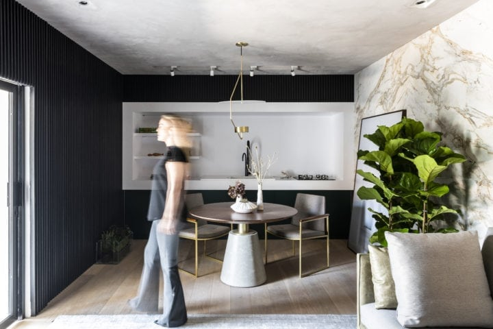 quarto da suite do executivo assinado por Erica Salgueiro para CasaCor SP 2018
