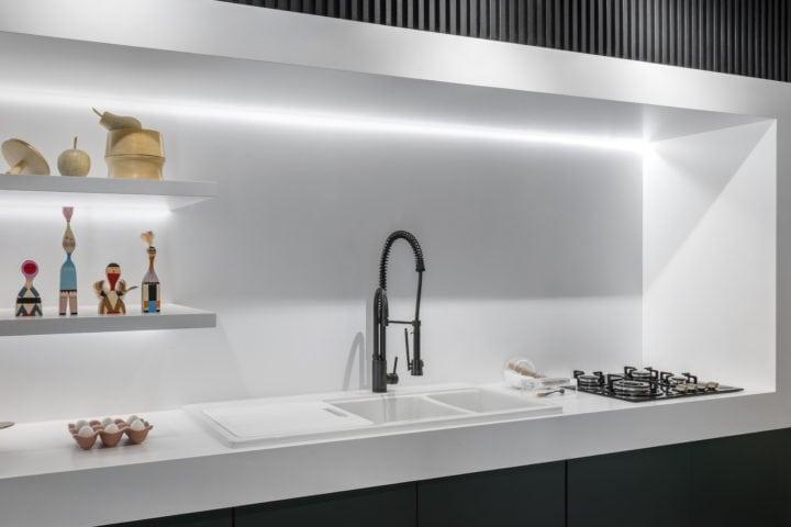 Cozinha do ambiente de Erica Salguero para CasaCor SP