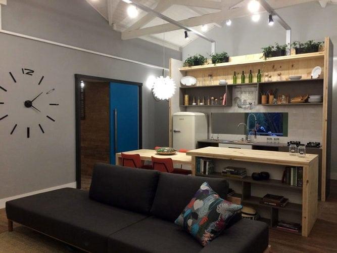cozinha da casa sustentável de larissa oliveira e gabriela lotufo, casa sustentável leroy Merlin para casa cor sp 2018