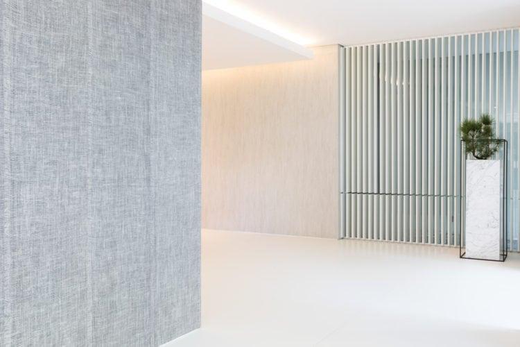 Casa Cor SP 2018. Espaço de João Armentano. Hall de entrada .