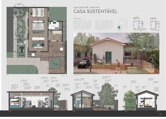 Projeto da casa sustentável da Leroy Merlin para Casa Cor SP