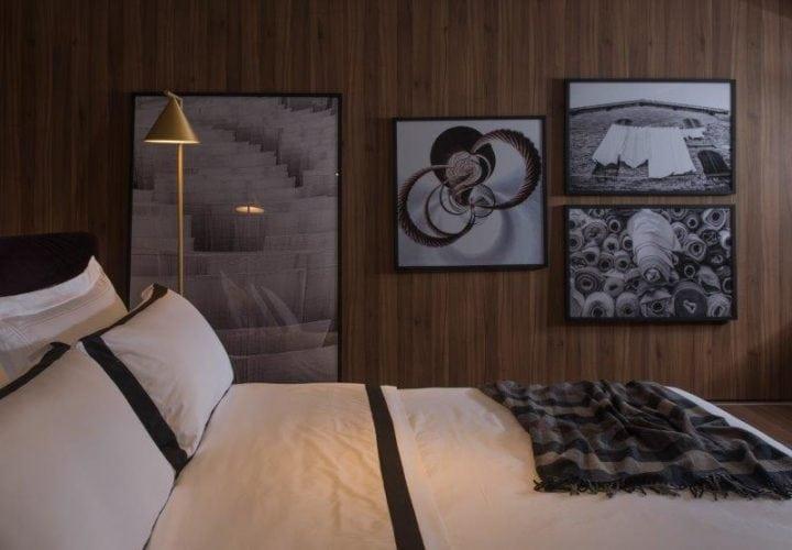 quarto da Casa Moyses assinada por Studio 011 para Casacor SP