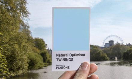 NATURAL OPTIMISM, A NOVA COR DA PANTONE