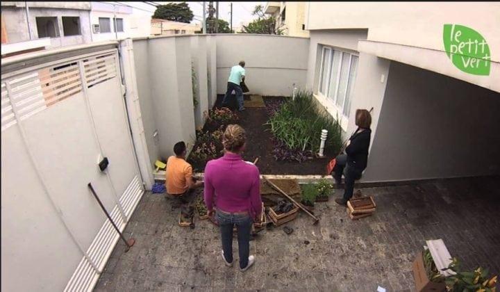 Montagem de um jardim por Le Petit Vert